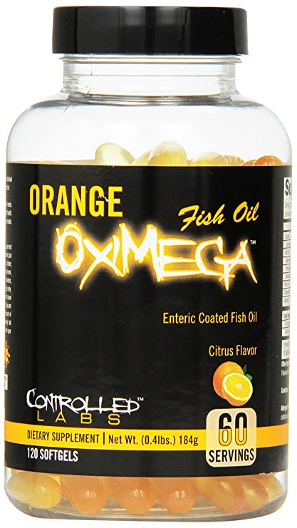 Controlled Labs Orange Oximega 120 capsule