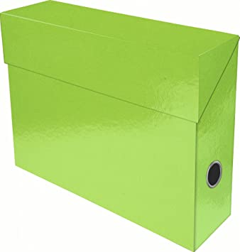 Exacompta 89923E - Caja de transferencia, color verde