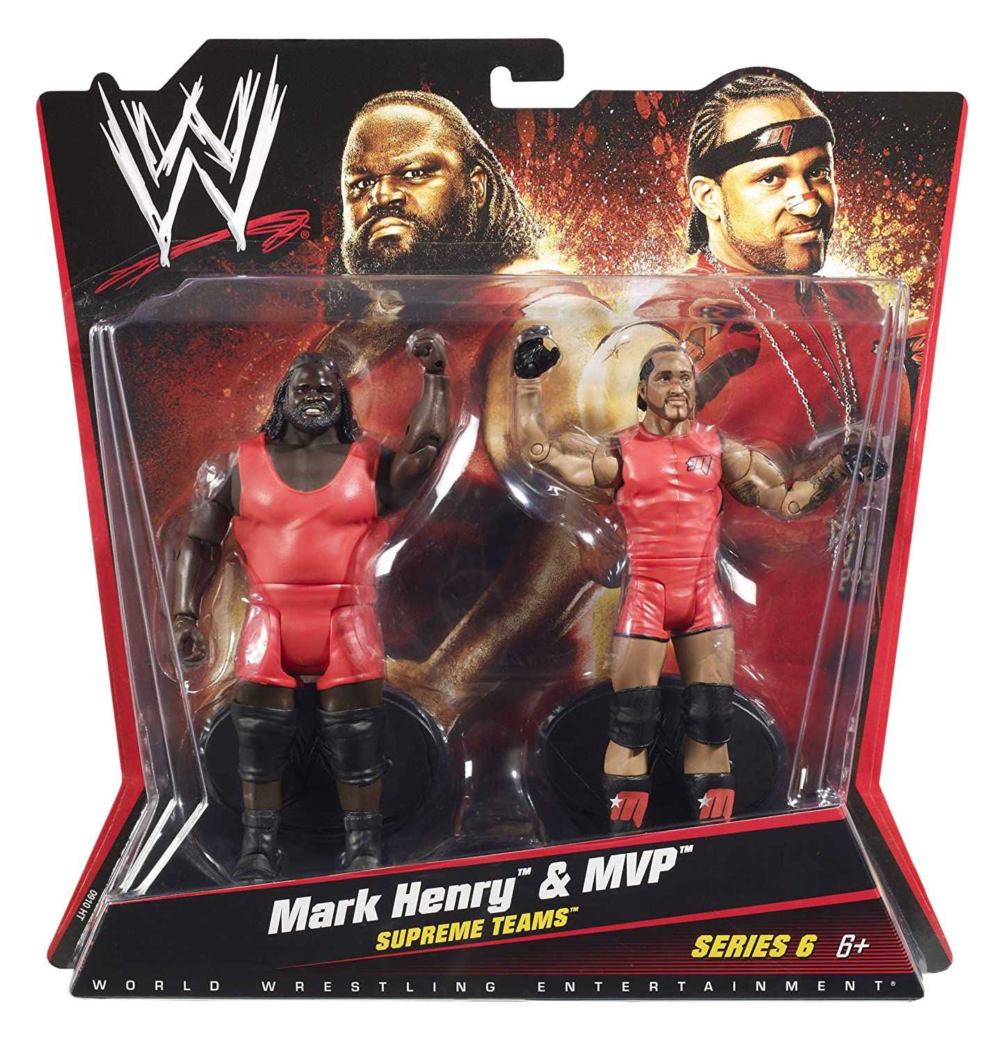 Amazon WWE Supreme Teams Mark Henry And MVP Figure 2 Pack Series 6 Toys Games