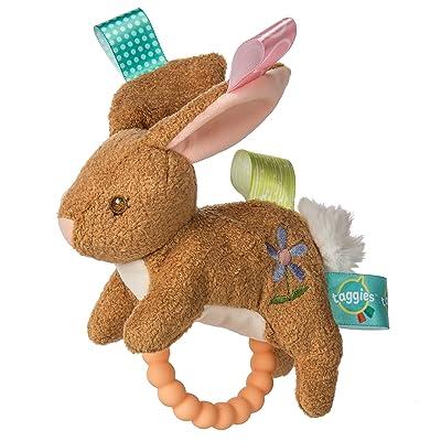 "Taggies Teether Baby Rattle, 6"", Harmony Bunny : Baby"