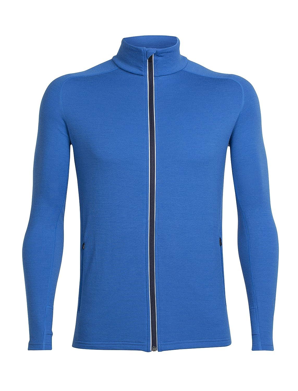 Icebreaker Men's Quantum Long Sleeve Zip Hood Cover Ups 103872