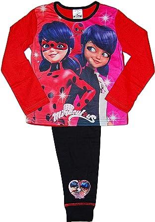 Ladybug - Pijama - para niña Rojo Red/Pink/Black ...