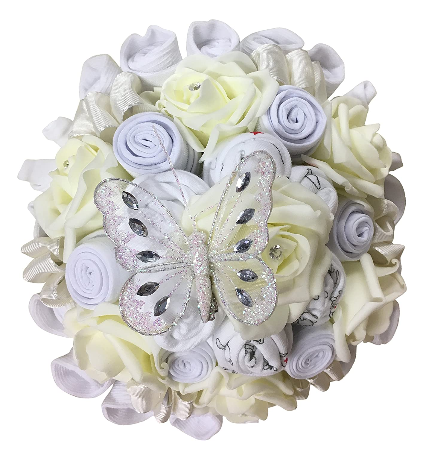 Baby Clothing Bouquet Baby Shower Gift Unisex Neutral 6-9 Months