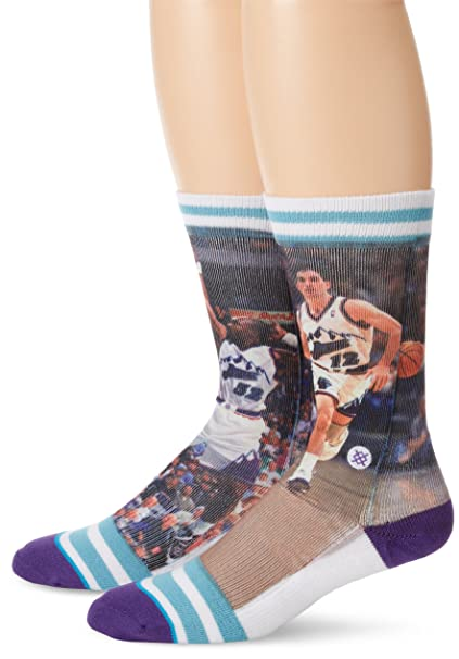 Stance NBA Collection Stockton Malone Jazz 43-46: Amazon.es: Ropa y ...