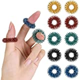 Mr. Pen- Spiky Sensory Rings, 10 Pack, Stress Relief Fidget Sensory Toys, Fidget Rings, Fidget Ring for Anxiety, Stress Relie