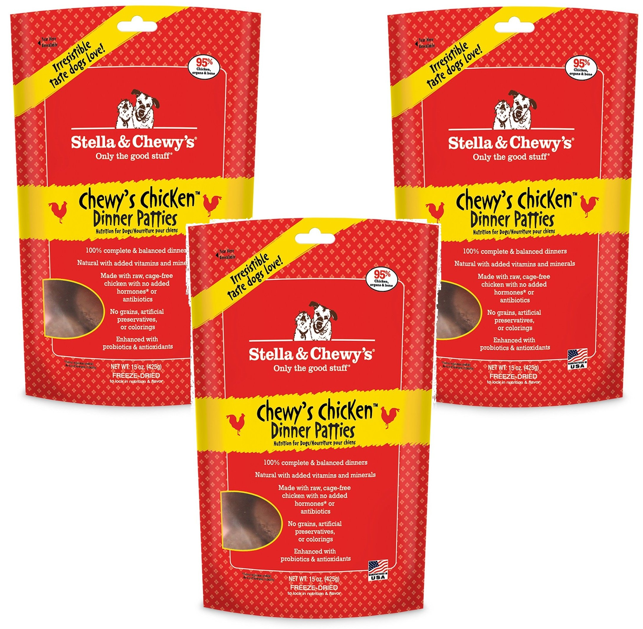 Stella and Chewy's Freeze-Dried Chewy's Chicken 14 Ounce