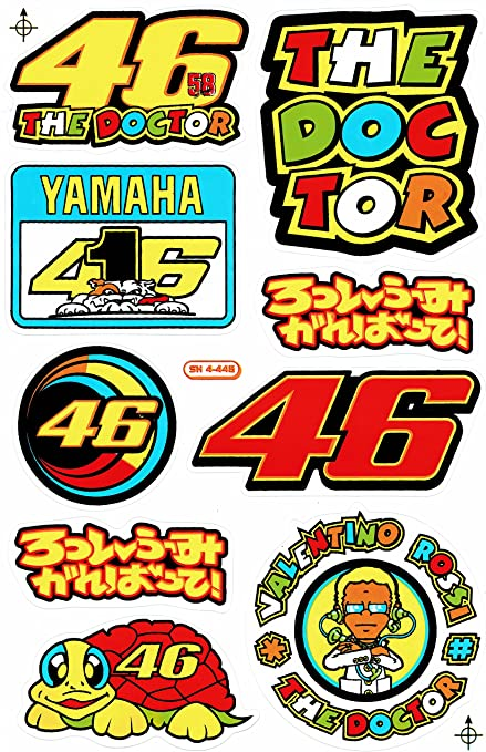 27 x 18 cm para el coche o la moto Sponsors Hoja Racing Decal Sticker Tuning Racing Tama/ño
