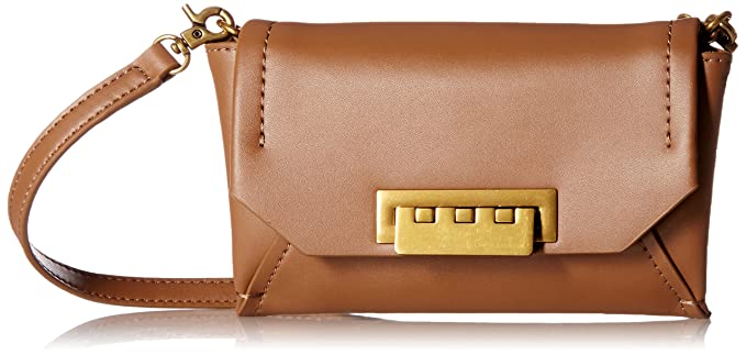 74d0183903578 Amazon.com  ZAC Zac Posen Eartha Envelope Crossbody-Beige