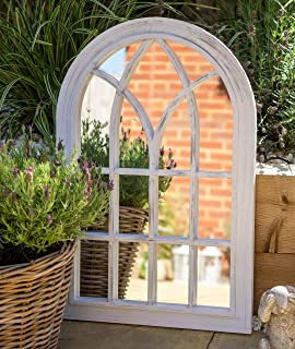Festnight Espejo Rústico con Arco para Jardín 116 x 60 cm: Amazon.es: Hogar