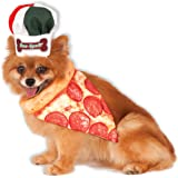 Rubies Costume Company Bone Appetite Pizza Chef Pet Set