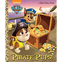 Pirate Pups! (Paw Patrol) (Little Golden Book)