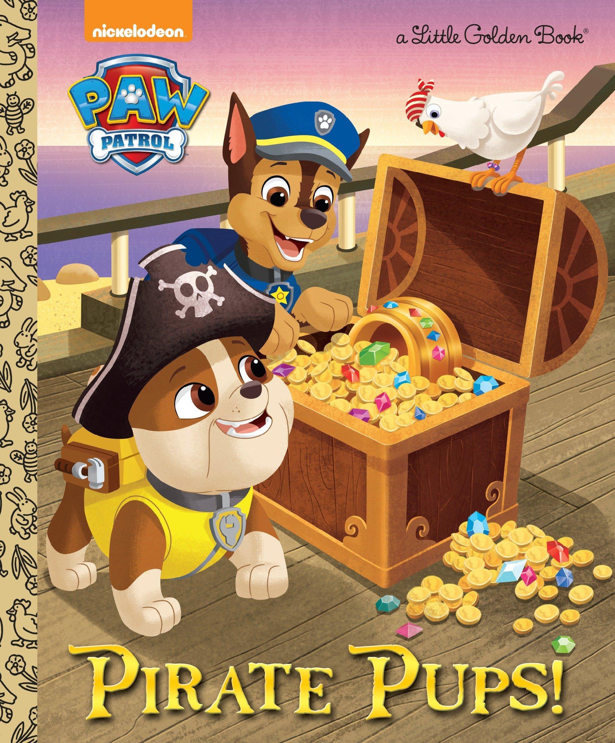 Download Pirate Pups! (Paw Patrol) (Little Golden Book) ebook