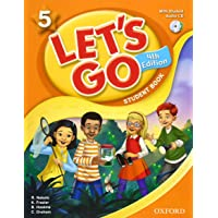 Lets Go 4th Edition Level 5 Student Book with Audio CD Pack (Let's Go)