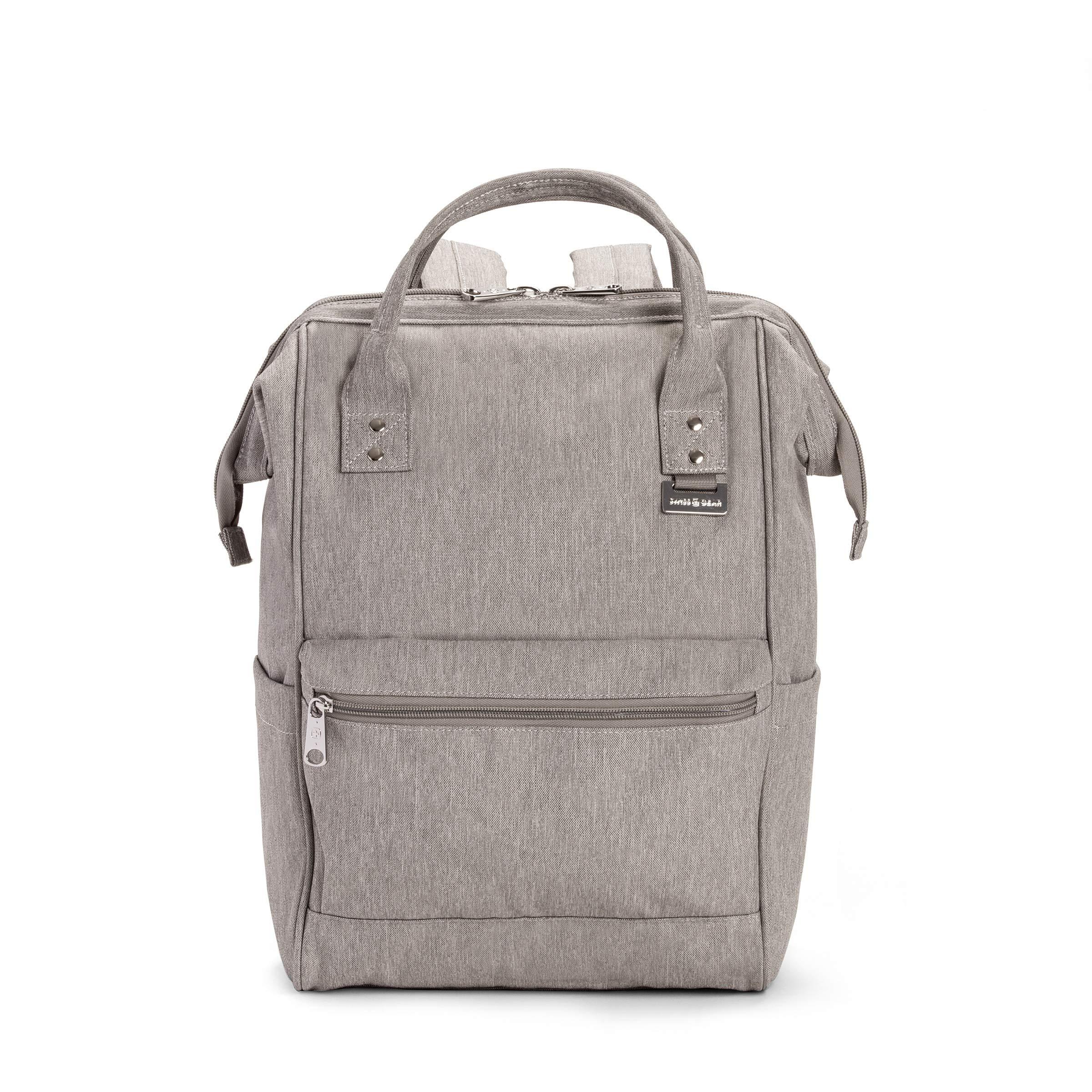 SWISSGEAR 3576 Artz Laptop Backpack. Vintage-Inspired Everyday Doctor Bag Backpack by Swiss Gear