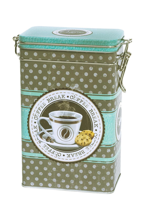 Cesta de almacenamiento para té, café, café, cocina, 250 g, color beige Buzz