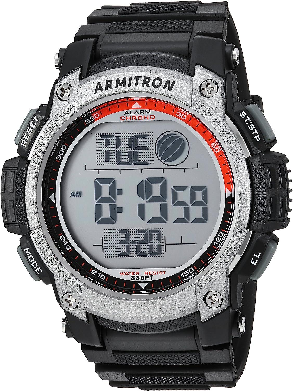 Armitron Sport Men s 40 8252BLK Black Digital Chronograph Watch
