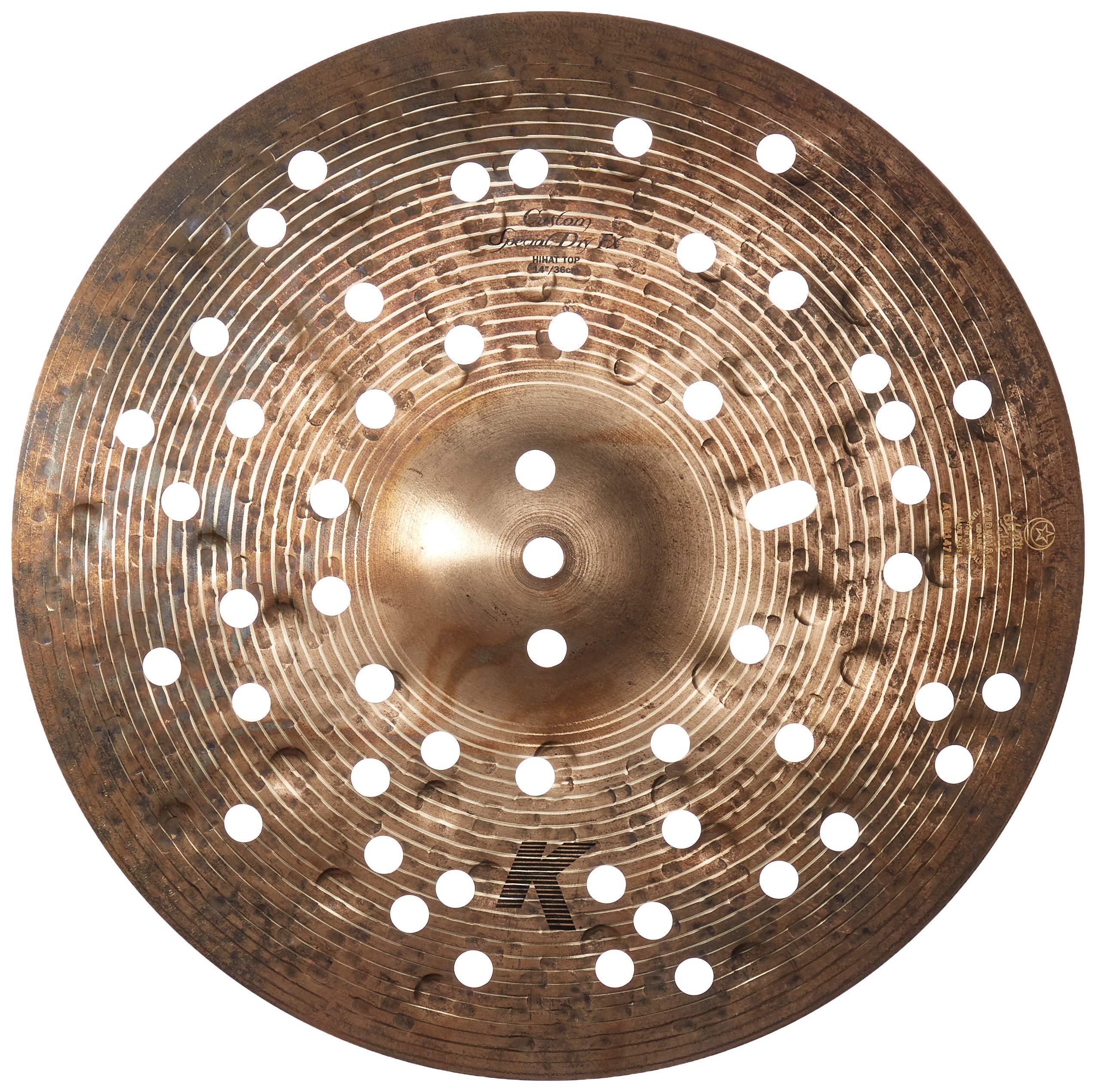 Zildjian K Custom Special Dry 14'' FX Hi Hat Top Cymbal (K1411)