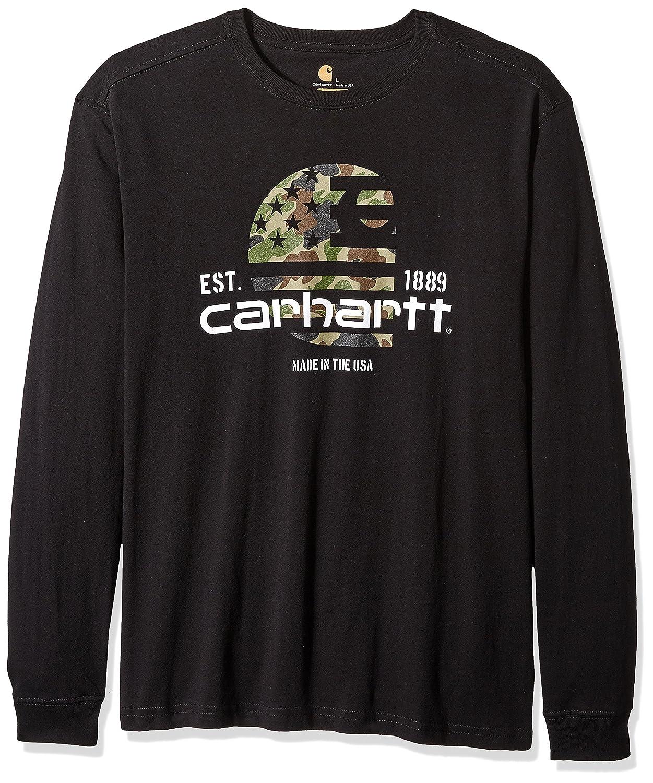 Carhartt SHIRT メンズ B06VWGVC9Y X-Large|ブラック ブラック X-Large