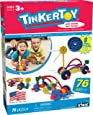 TINKERTOY – Wild Wheels Building Set – 76 Pieces – Ages 3+ – Preschool Educational Toy