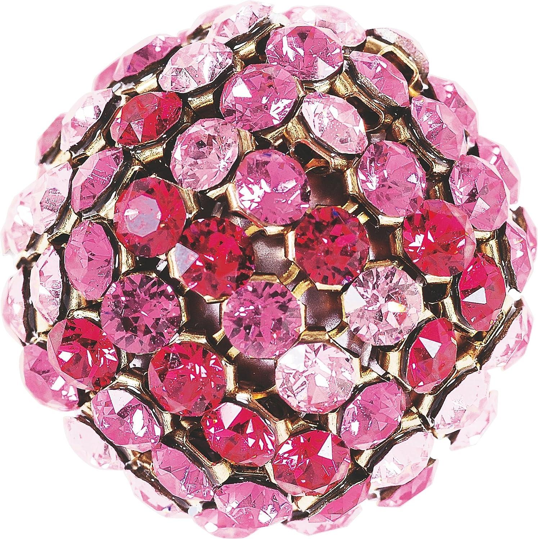 Cristales de Swarovski 5039353 Crystal Mesh Balls 40519 081ROMU 001PRPRL 1 081, 6 Piezas