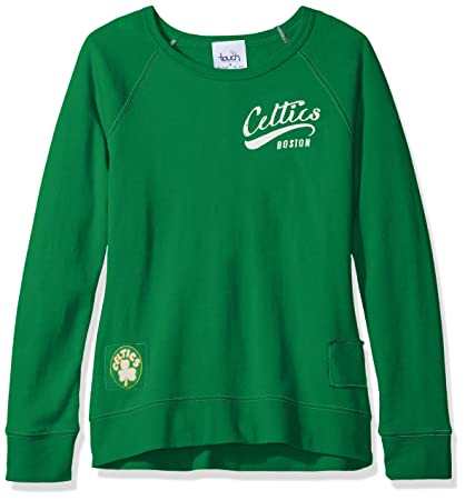 low priced f88e6 374f1 Touch by Alyssa Milano NBA Boston Celtics Women's Dugout Reversible  Pullover Sweatshirt