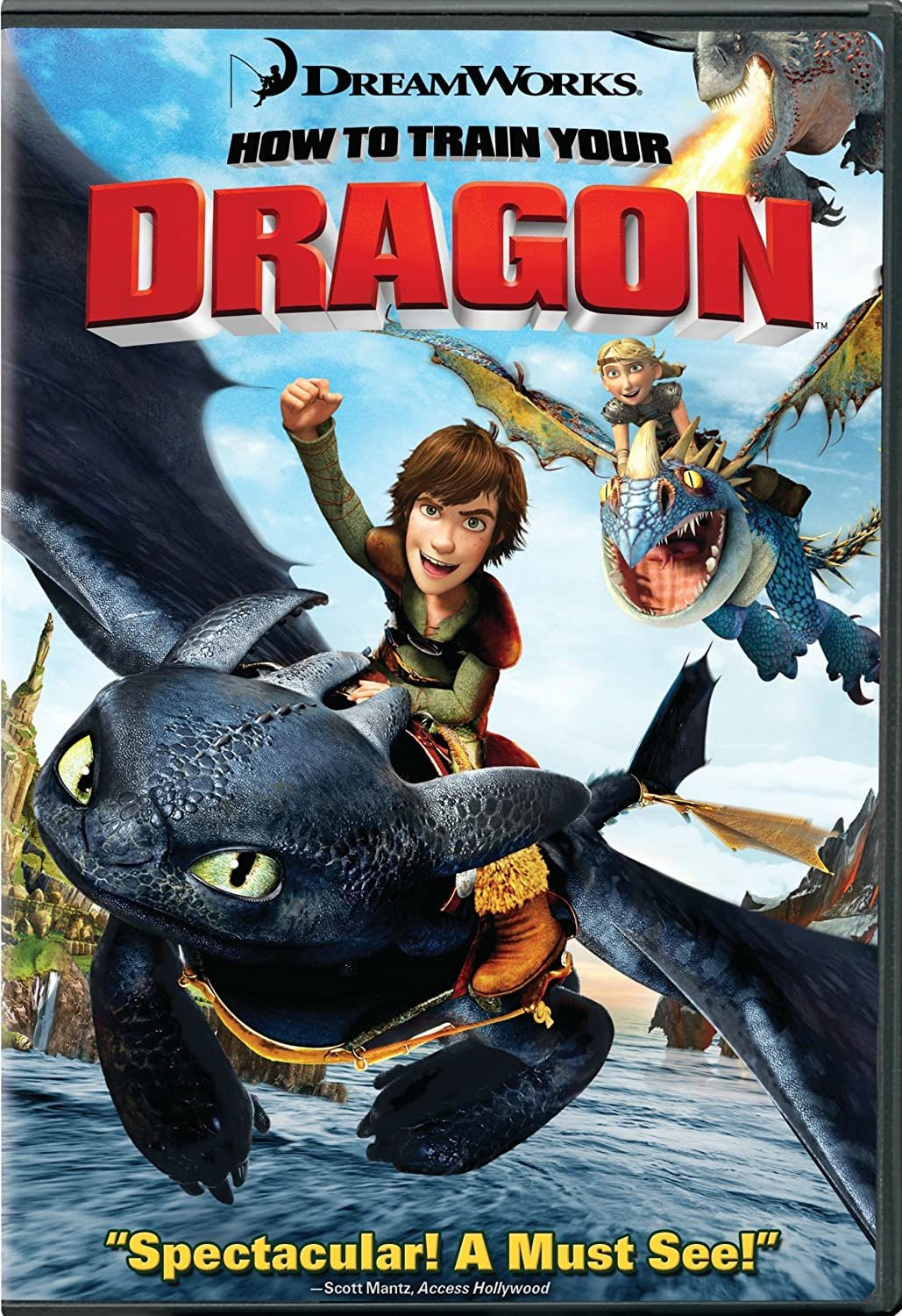 Amazon: How To Train Your Dragon: Jay Baruchel, Gerard Butler, Craig  Ferguson, America Ferrera, Jonah Hill, Christopher Mintzplasse, Tj  Miller,