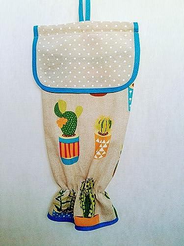 Guardabolsas de tela cactus: Amazon.es: Handmade