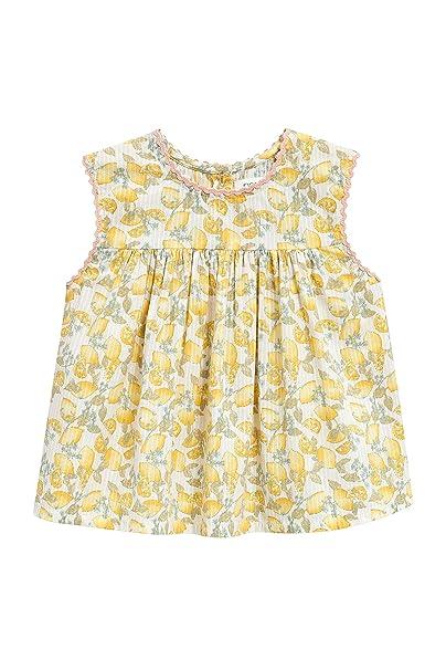 next Niñas Vestido con Estampado De Limones (3 Meses - 6 Años) Amarillo 5
