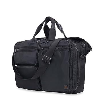 d291f8e1b8c4 Knomo Luggage Men's Wilton Briefcase, Black, One Size