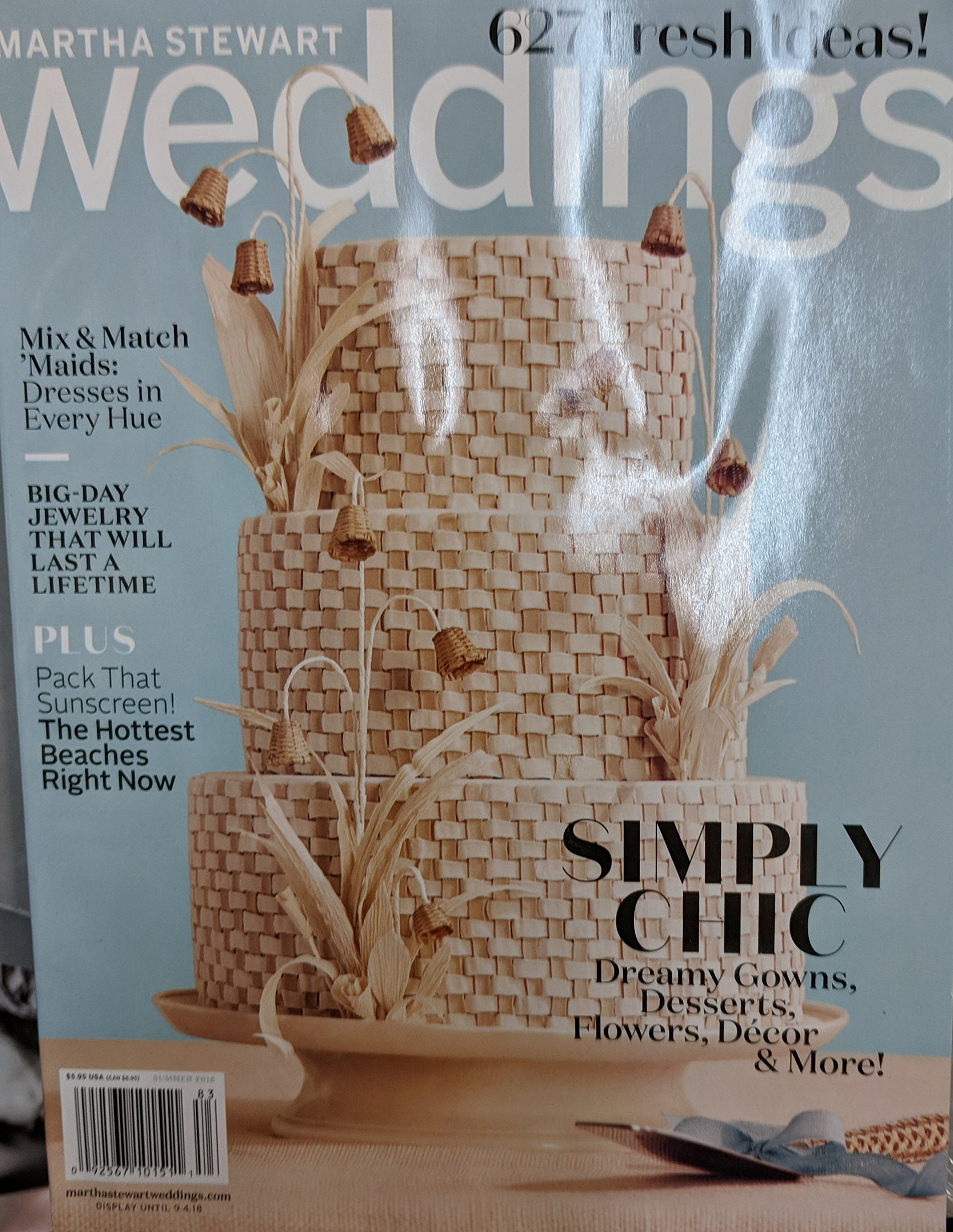 Read Online Martha Stewart Weddings Magazine (Summer 2018) Simply Chic pdf