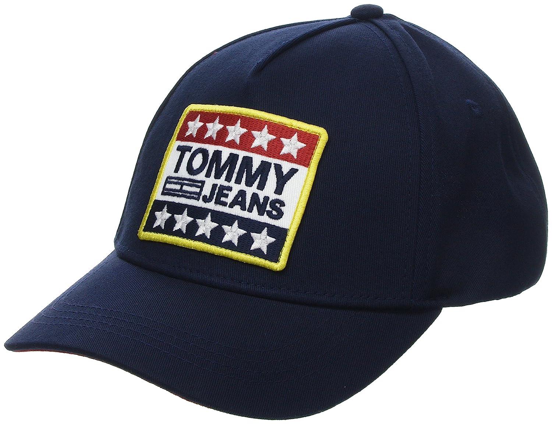 Mens Tjm Grand Logo Casquette De Baseball Patch Jeans Tommy jJyPEL