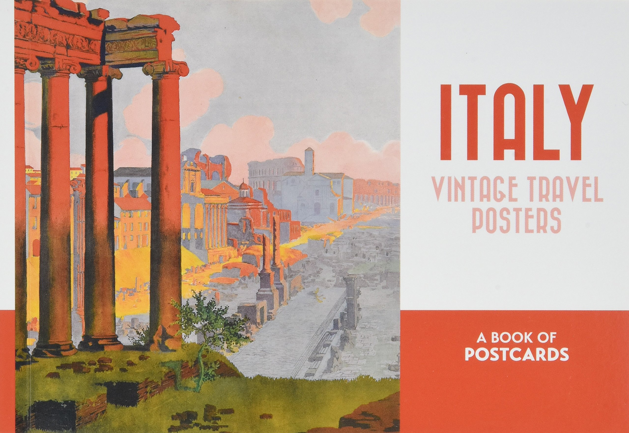 Italy: Vintage Travel Posters Book of Postcards: Swann