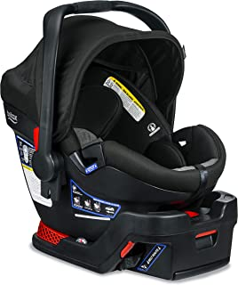 product image for Britax B-Safe Ultra Infant Car Seat - Rear Facing | 4 to 35 Pounds - Reclinable Base, 2 Layer Impact Protection | Nanotex Technology, Stay Clean Grey