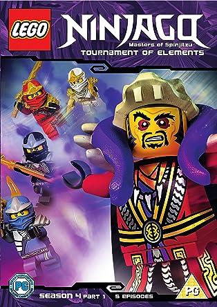 Lego Ninjago - Masters Of Spinjitzu: Season 4 - Part 1 DVD 2016 ...