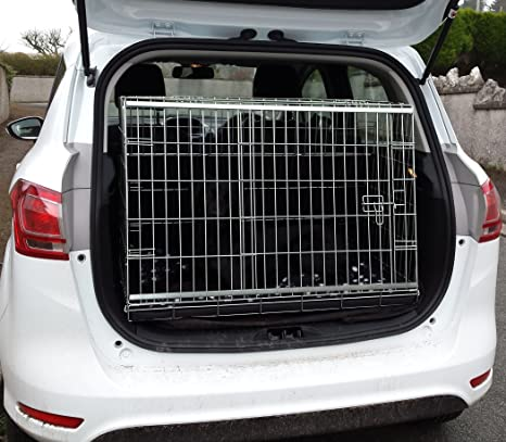 Arrow FORD BMAX CAR DOG CAGE SLOPED FRONT GUARD PUPPY CRATE CARRIER
