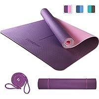 PROIRON Colchoneta de Yoga Esterilla Yoga Antideslizante Material