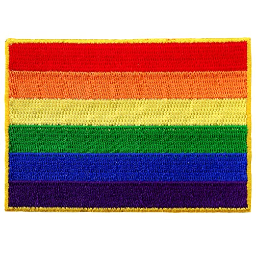 Gay pride iron on transfer bulk