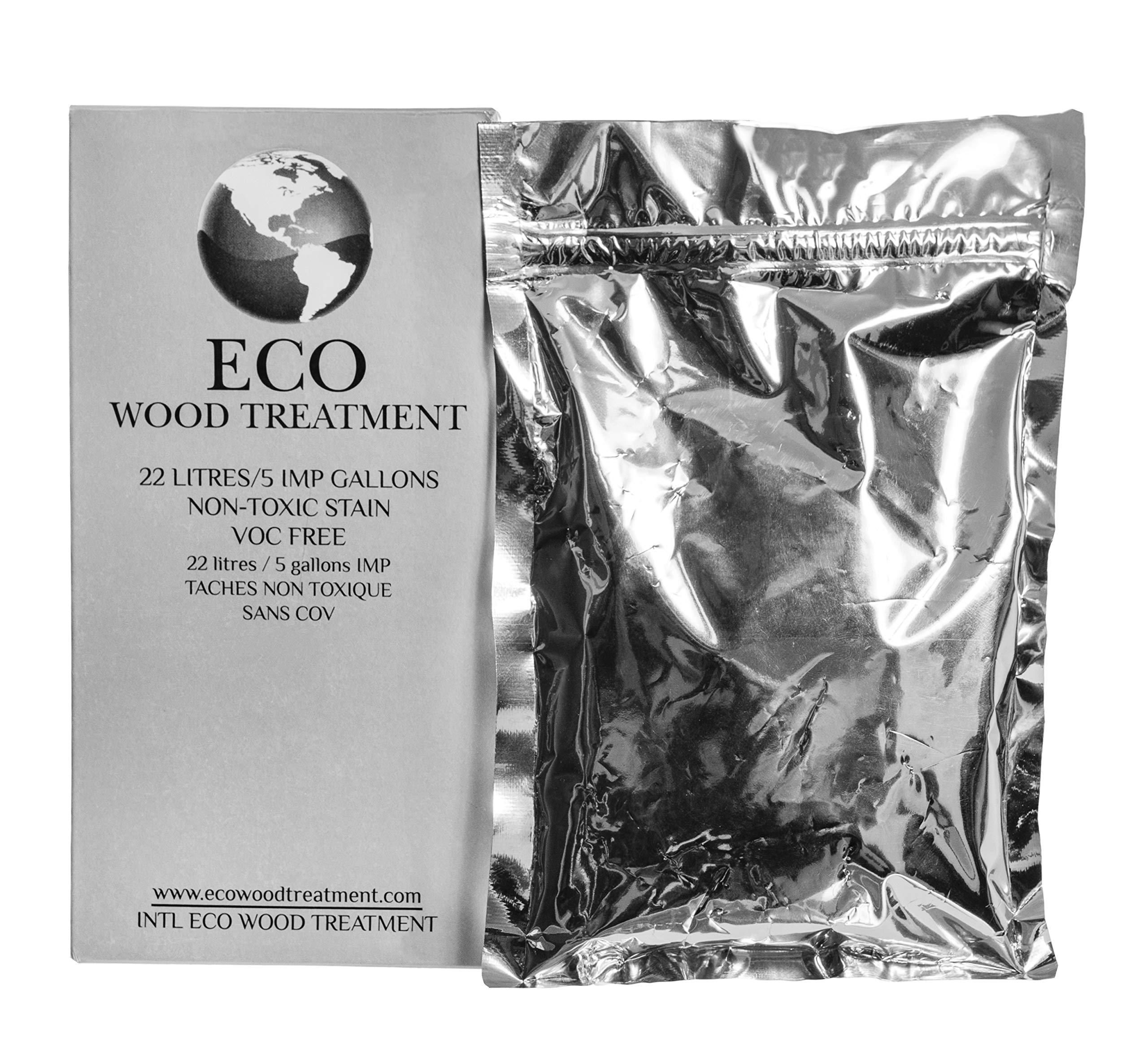 ECO WOOD TREATMENT 5 Gallon Covers 750 SQ FT VOC Free