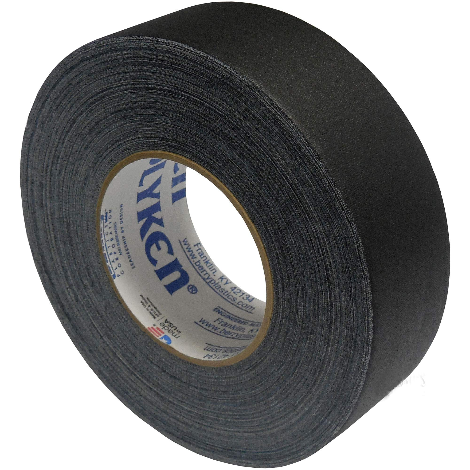 Seforim and Book Binding Specials - Polyken 3 Rolls Total of 3-inch Wide Black Book Binding Tape by Polyken