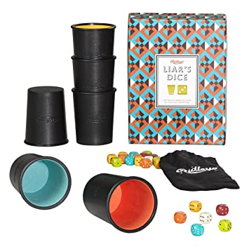 Ridleys Games Room Liars Dice Game Cards