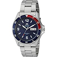 Orient Men's 'Mako II' Japanese Automatic Stainless Steel Casual Watch Color:Silver-Toned (Model: FAA02009D9)