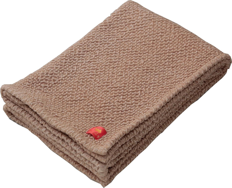 キャメル混のびふわ毛布 日本製 洗える 軽い 暖かい キャメル毛布 B07545HBCC