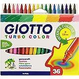 Pochette de 36 feutres Giotto Turbo Color