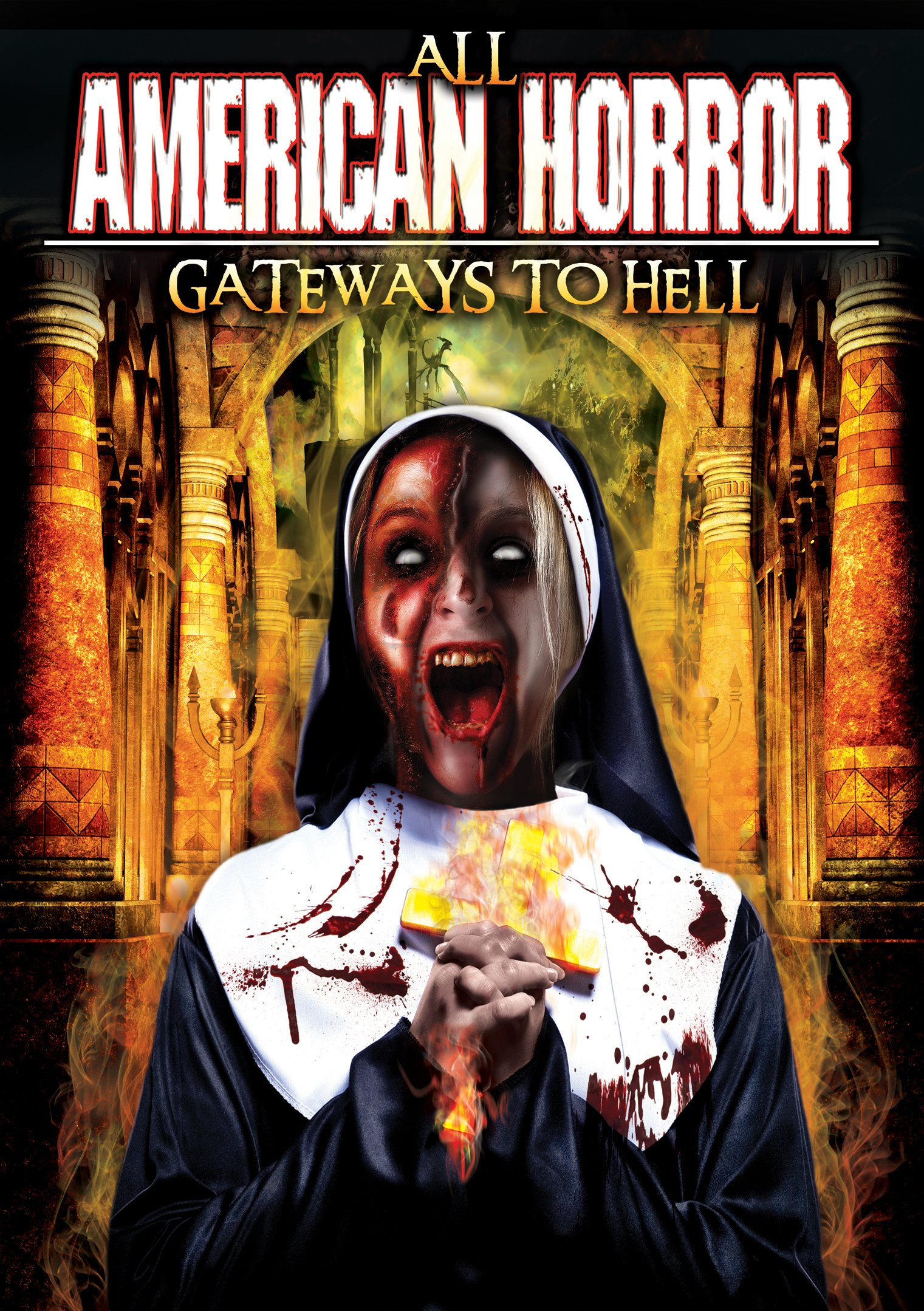 DVD : KRILL, OH - All American Horror: Gateways To Hell (Widescreen)