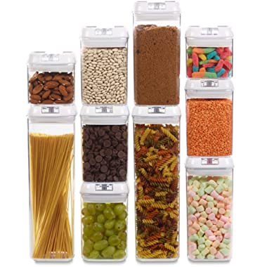1790 Airtight Food Storage Containers with Lids - 10 Pack
