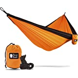 Bear Butt Double Hammock - 16 Colors Available - Going Outdoors Backpacking Camping Or Hiking? Get The Best Lightweight Parachute Hammocks! 2 Year Company On Amazon - The Reviews Say It All