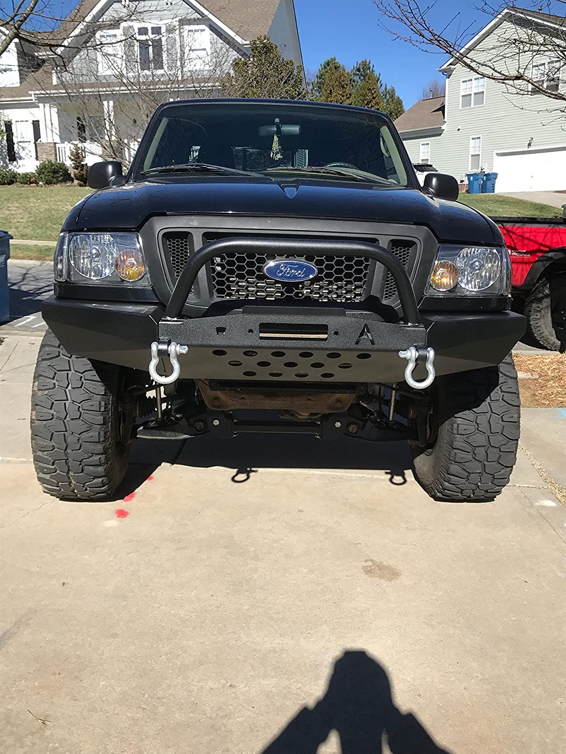 Modular Front Bumper With Bull Bar For 98 11 Ford Ranger