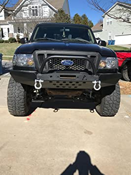 Modular Front Bumper with Bull Bar for 98-11 Ford Ranger