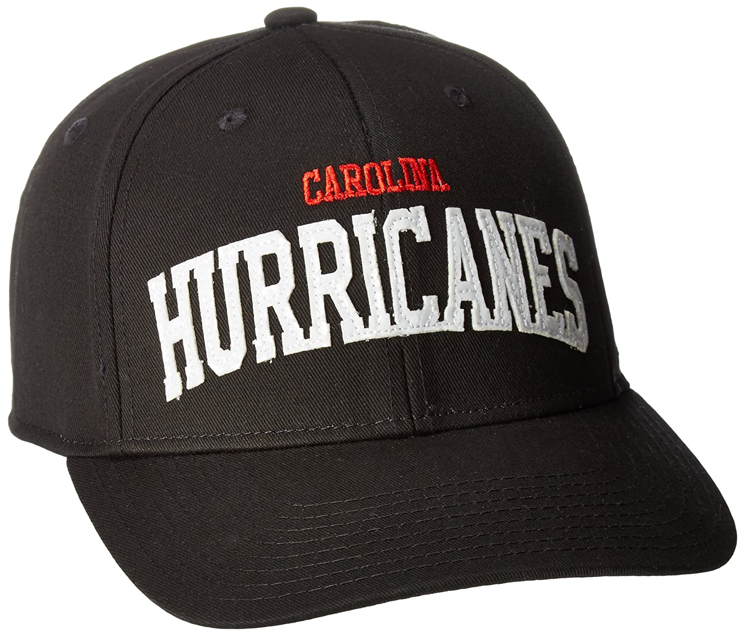 buy online d9103 90d99 Amazon.com   NHL Carolina Hurricanes Women s SP17 Sequenced Structured Adjustable  Cap, Black, One Size   Clothing