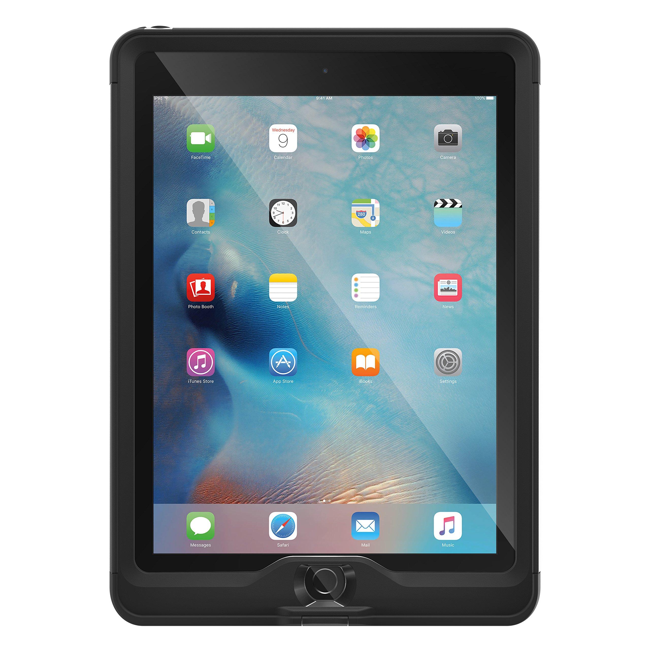 LifeProof NÜÜD SERIES for iPad Pro 9.7'' (ONLY) - Retail Packaging - BLACK